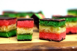 rainbow bar cookie